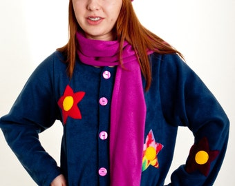 Ladies Fleece Jacket 'Starflower'