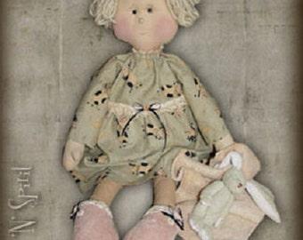 "Pattern: Patty - 21"" Sleepytime Rag Doll"