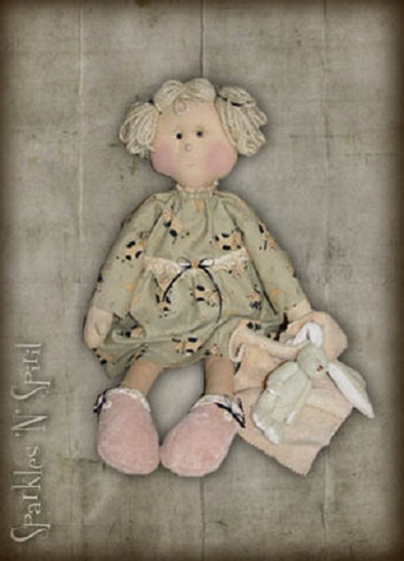 "Pattern: Patty - 21"" Sleepytime Rag Doll"