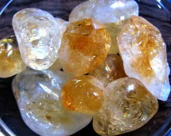 Citrine Healing Crystals, Abundance On All Levels, Success, Wealth, Boost Confidence, Happiness