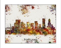 Popular items for portland map on etsy for Ikea portland directions