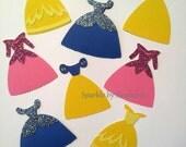 "Custom listing for hcroecket - Disney Princess - 5"" Dresses - Cinderella, Belle, Snow White & Sleeping Beauty - Set of 80 - Priority Mail"