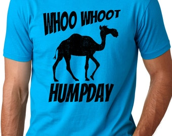 Whoo Whoot Humpday Funny camel T-shirt