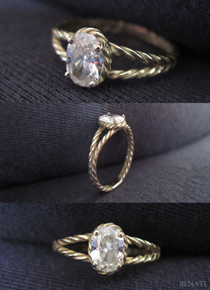 diamond twisted rope engagement ring oval diamond engagement. Black Bedroom Furniture Sets. Home Design Ideas