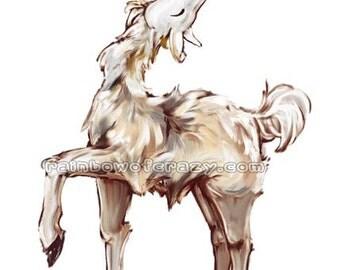 Fabulous Gift, Llama Art, Any Print Size, Gay Pride, Inspirational Art, Farm Animal, Custom Message, Personalized Text, Motivational Poster