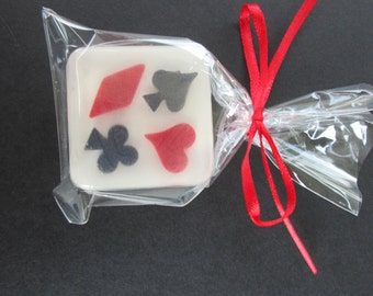 Poker Party Favors, Card Game, Spades, Hearts, Diamonds, Clubs