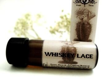 Botanical Perfume Oil. Whiskey Lace- Amber, Vanilla, Berries, Whiskey, Tobacco, Sandalwood. Natural Perfume. Organic Essential Oils.