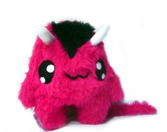 Fluse:  Pink Devil Kawaii  Plush Monster