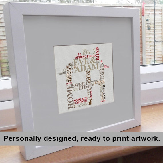 Printable File New Home Housewarming Gift By Alichappelluk