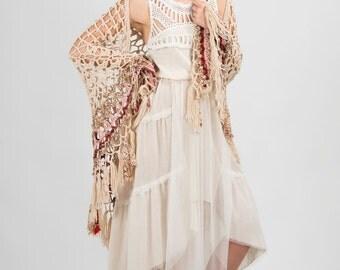 Bohemian wedding dress,Tiered wedding dress,Summer wedding dress,Maxi Bridal Wedding Gown,Alternative wedding dress