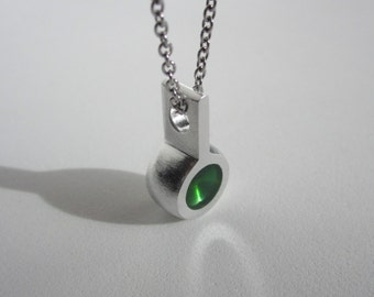 Modern Green Necklace – Modern Contemporary Jewelry Design