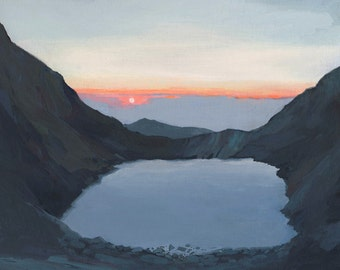 Chasm Lake - limited edition print
