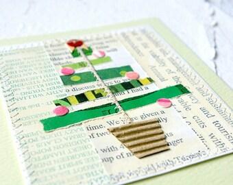 Christmas Card, Collage Christmas Card, Christmas Greeting, Holiday Card