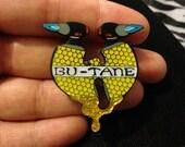 5-pack Bu-tane Clan hat pins