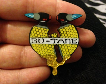 5-pack Bu-tane Clan hat pins