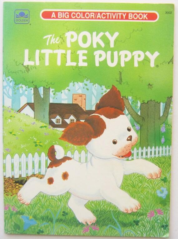 The Poky Little Puppy Vintage Golden