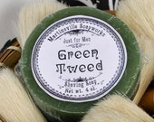 Green Tweed Shaving Soap  - Made in Martinsville - House of Creed type