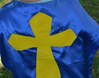 Superhero Cape Cross Christian Superhero Kid Childrens Capes Custom VBS