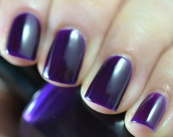 Tyrian Purple - Hand Made Nail Polish