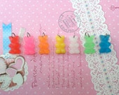 Food Jewelry, Gummy Bear Necklace: Pick Your Flavor, Food Jewelry, Food Necklace