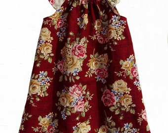 Roses Peasant Dress Size 12 Months