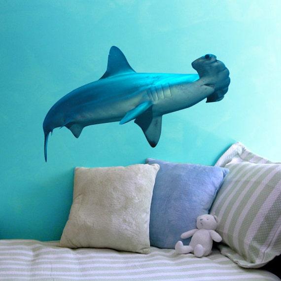 Hammerhead Shark Sea Life Vinyl Decal By Wilsongraphics On