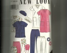 New Look Misses' Scrubs Pattern 6777