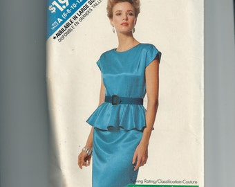Butterick Misses' Dress Pattern 6389