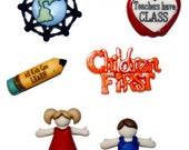 Children First buttons set of  6