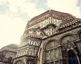 Florence, Italy , cathedral, european church, religious photography, architecture, florence photography, brown decor, Il Duomo I F03
