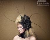 Haute Couture Headpiece Fascinator Vampire Squid Kentucky Derby