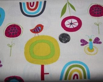 Robert Kaufman Fabrics - Fly Away - AAS-11935-207 Sunrise - One Full Yard