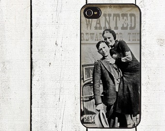 Bonnie and Clyde Phone Case for  iPhone 4 4s 5 5s 5c SE 6 6s 7  6 6s 7 Plus Galaxy s4 s5 s6 s7 Edge