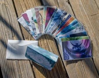 Mini Fractal Gift Cards - Random Assortment of 10