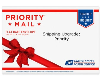 GET IT FAST. Priority upgrade.   ships 2-3 days.