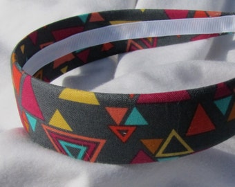 Trendy Triangle GEO Printed Headband