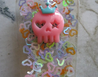 Skull Queen of the Coffin Resin Magnet