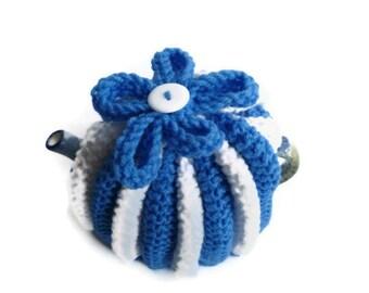 tea cozy cosie knitting pattern for flower top  cosie