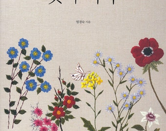 Countryside Flowers Embroidery  - Craft Book