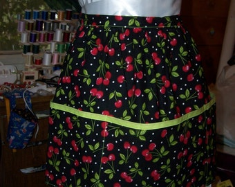 Cherries Jubilee Apron