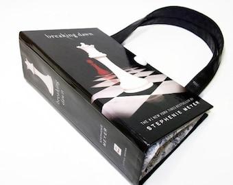 Breaking Dawn Book Purse Twilight  Book Handbag Fashion Accessories, Clutch, Bag, Book Lover Gift