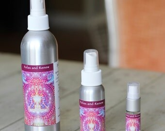 Relax and Renew (Aromatherapy Spray for the Body and Environment)