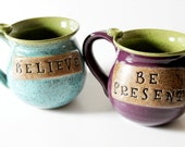 One Engraved Speckled Mug  Made to Order  Great for Mom, Friend, Teacher,  Graduate or Coach