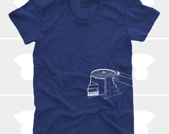 Skiing Snowboarding Women Shirt, Women's Chairlift Shirt, Ski Gift, The Mountains Are Calling,Telluride, Women's Clothes, Gift for Women
