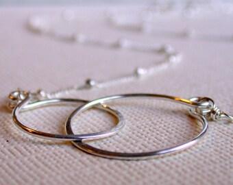 Eternity Necklace. Infinity Necklace. Friendhip Necklace. Gold Infinity. Silver Infinity. Friendship Necklace.