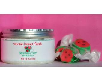 Watermelon Taffy Whipped Body Butter with Argan & Jojoba Oil