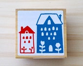 Nordic stamp - Lovely house - Middle size