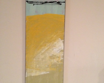 Abstract painting 12x36