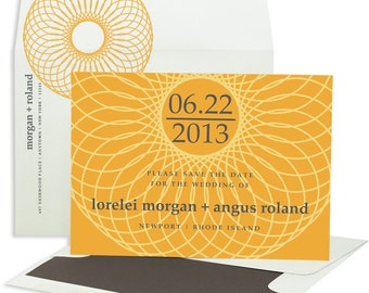 Chic Save the Date