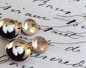 Domed Cameo Earrings
